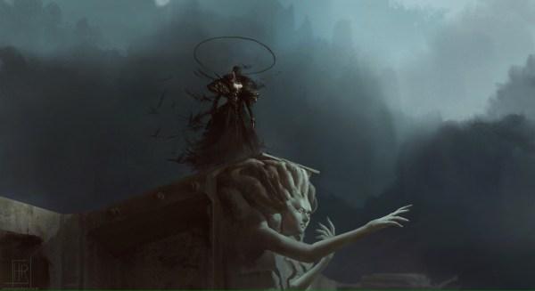 Amazing Fantasy Illustrations Hugo Richard Digital Artist