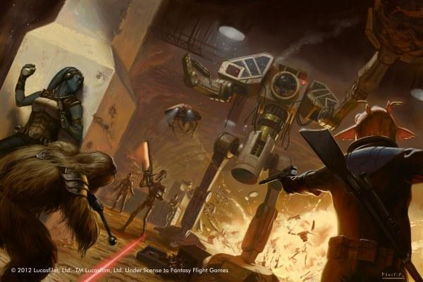 Awesome Star Wars Illustrations Jake Murray Sci-fi Art
