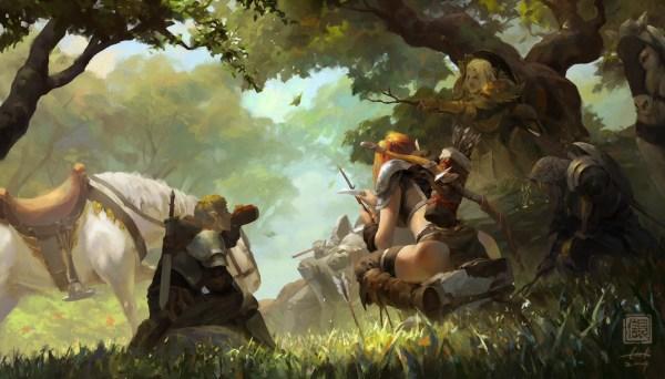 Fantasy Paintings Of Ken Liu Artist