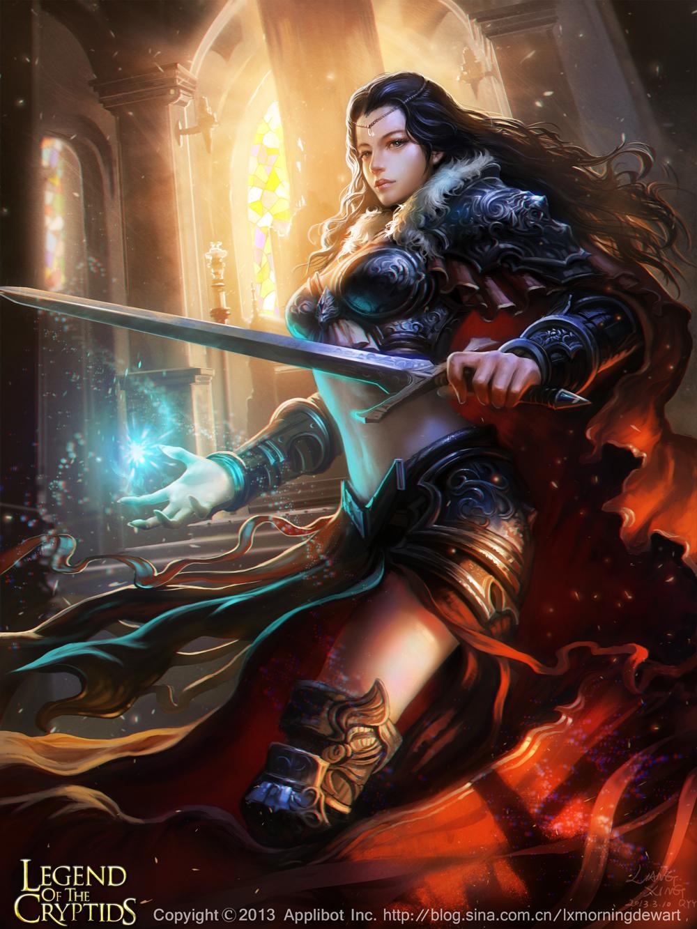 Fantasy Fallen Angels Girls Wallpaper The Stunning Digital Art Of Liang Xing Fantasy Illustrator