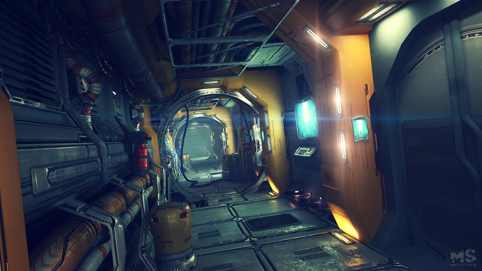 The SciFi Worlds of Mateusz Szulik  3d Artist