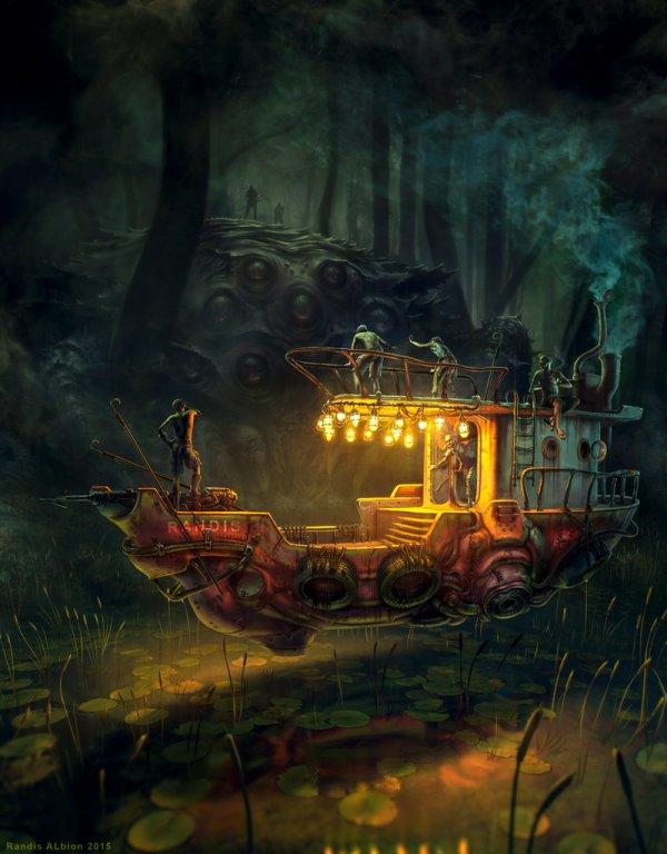 Stunning Digital Art Of Randis Albion Illustrator
