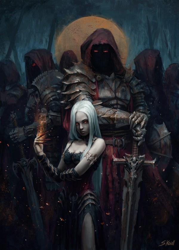 Dark Fantasy Artworks Of Stefan Koidl Horror Themed