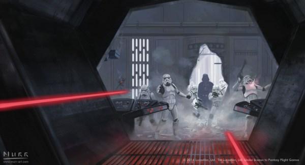 Star Wars Detention Block