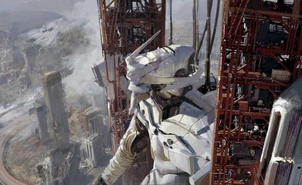 'eva' Sci-fi Artwork Huang Fan Concept Artist