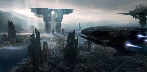 Science Fiction Art Of Xiaohui Hu Digital