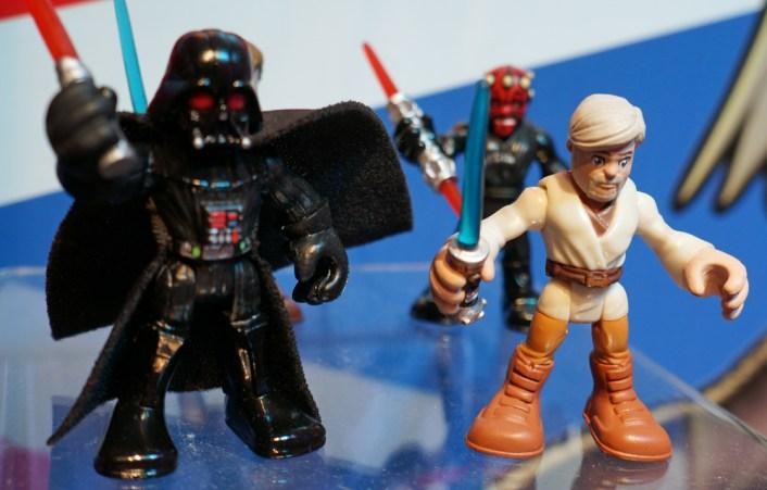 Darth Vader and Ben Kenobi