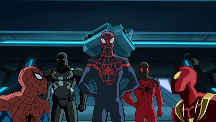 SPIDER-MAN, VENOM, MILES MORALES, SCARLET SPIDER, IRON SPIDER