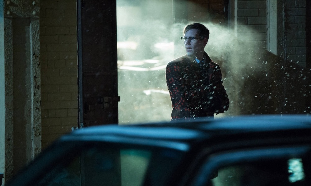 "GOTHAM: Cory Michael Smith in the ""Wrath of the Villains: Into The Woods"" episode of GOTHAM airing Monday, April, 11 (8:00-9:01 PM ET/PT) on FOX. ©2016 Fox Broadcasting Co. Cr: FOX"