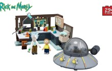 Rick & Morty Construction sets review (McFarlane Toys)