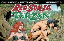 Tarzan and Red Sonja #1 review (Dynamite Entertainment