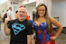 Mark and supergirl