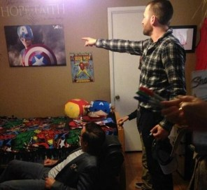 Grossmont Avenger_Chris evans pointing