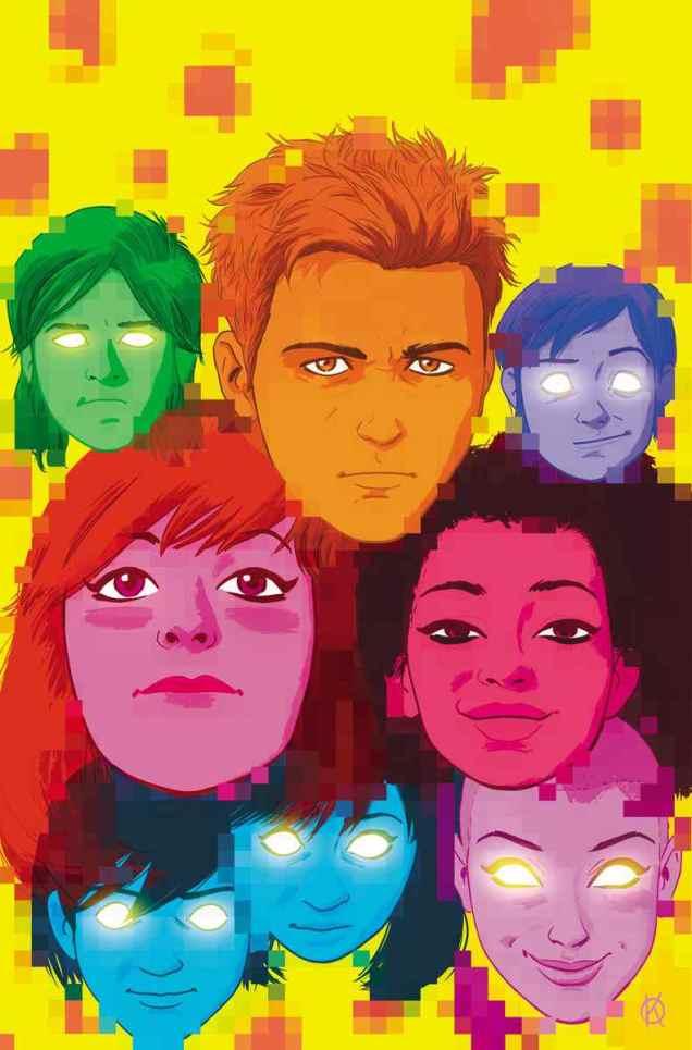 GENERATION ZERO #1 – Variant Cover by Kano