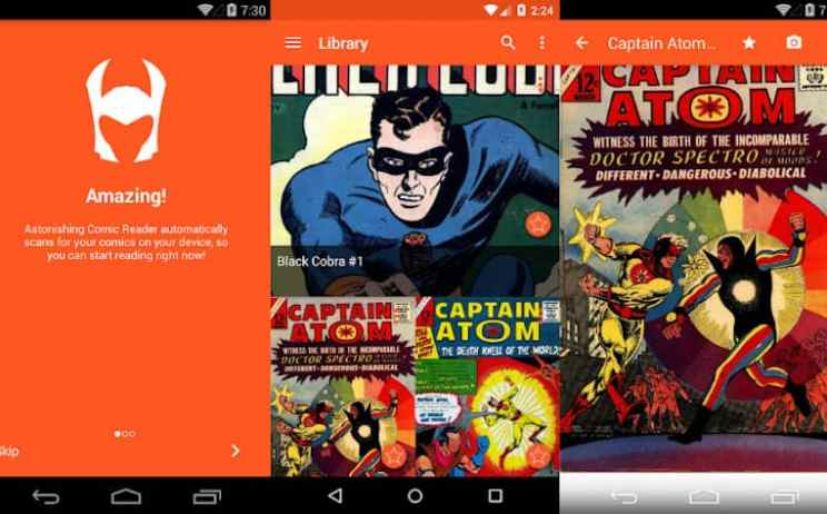 Astonishing Comic Reader App Review