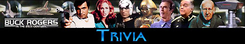 Buck Rogers in the 25th Century Trivia