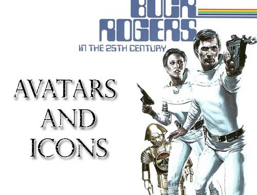 Buck Rogers in the 25th Century Icons