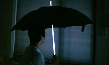 Umbrela luminoasă