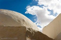 cielo sulle tipiche costruzioni tunisine - sky over tunisian buildings' rooftop