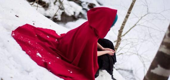 mantello rosso