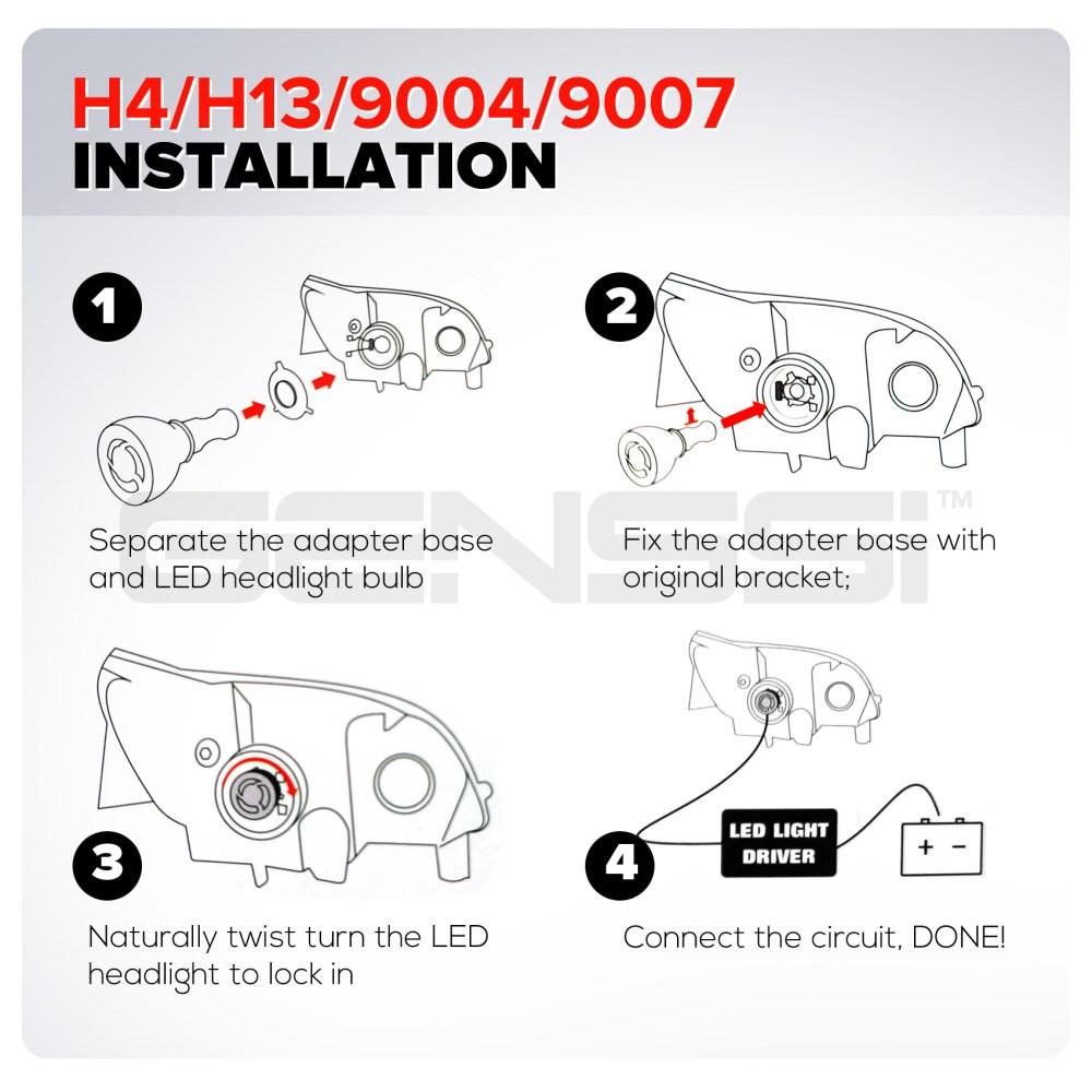 medium resolution of h13 bulb wiring diagram h13 headlight elsavadorla hid wiring diagram h13 bulb wiring