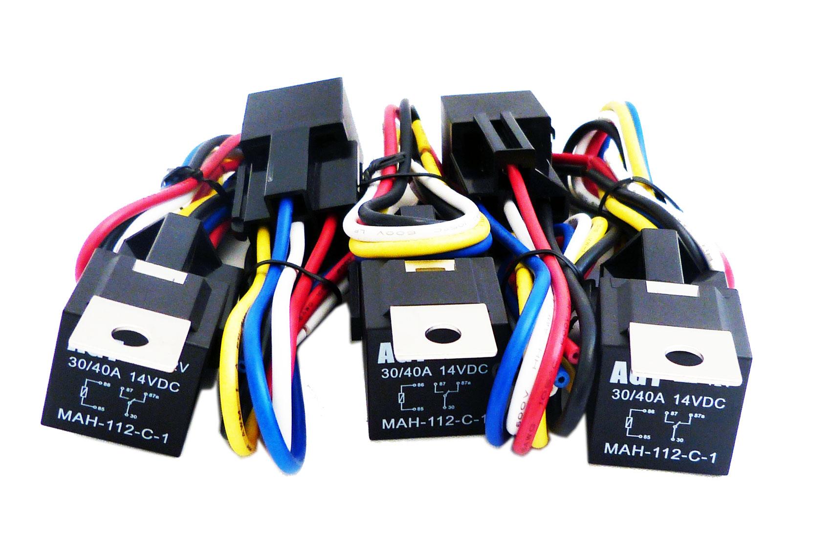 Bosch Relay Circuit Diagram