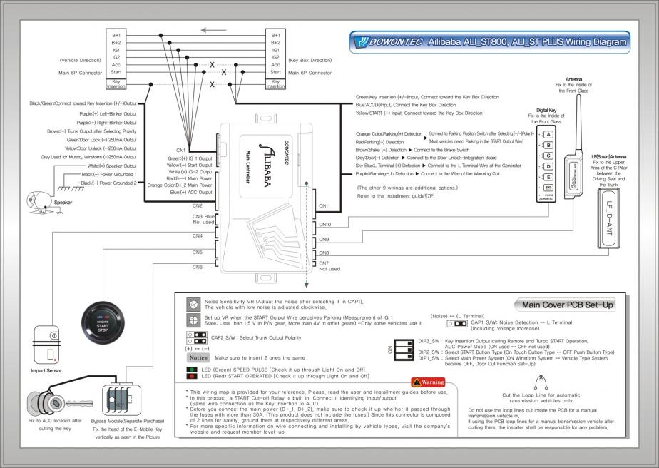 Remote Central Locking Wiring Diagram