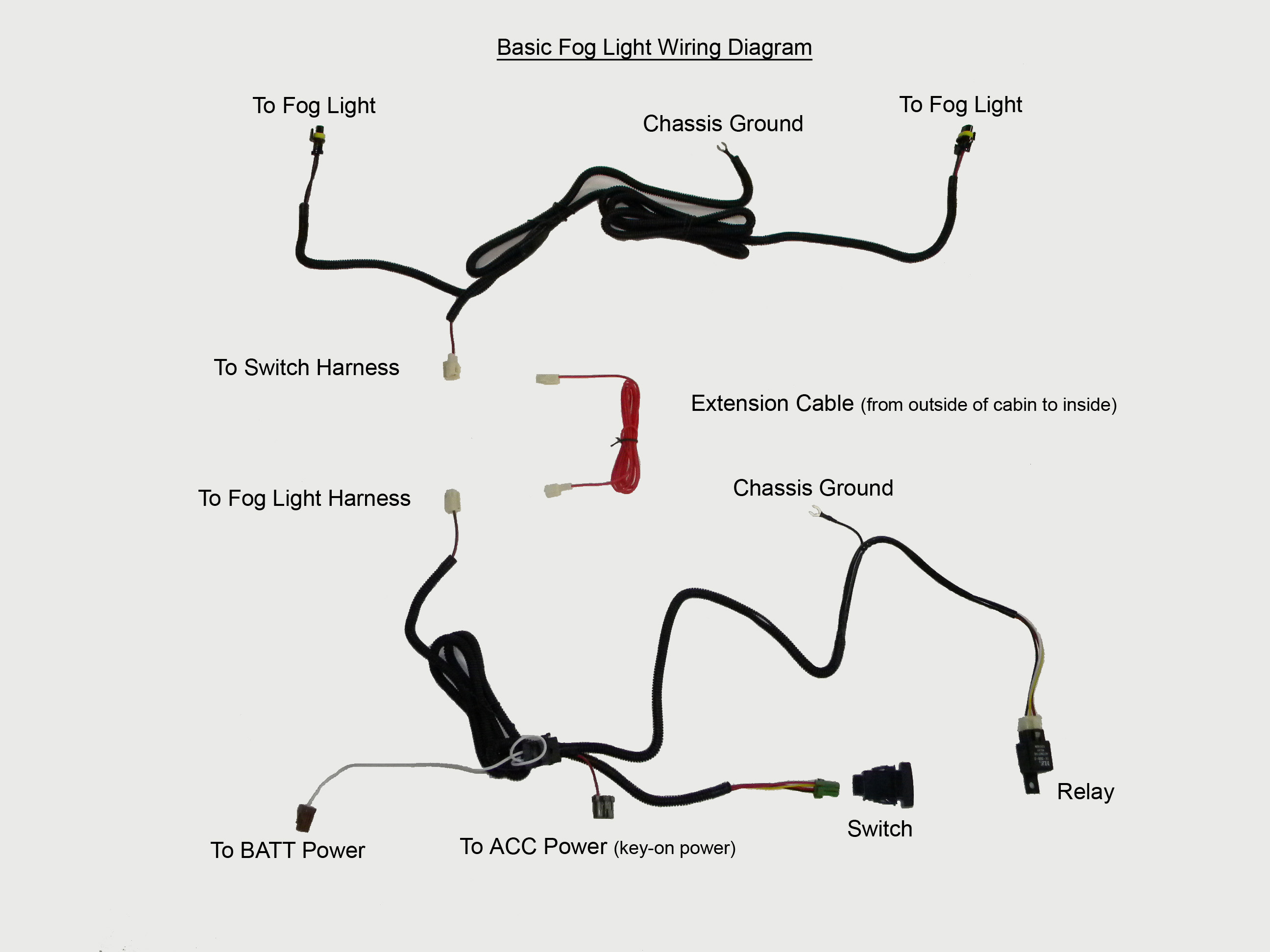 Help With Defective Oem Style Fog Light Harness Please
