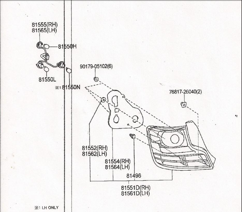 Scion Tc 2nd Tail Light Wiring Diagram : 38 Wiring Diagram