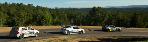 Image: Scion Racing Rally xD, GReddy Racing Scion tC, and Evasive Motorsports Scion FR-S