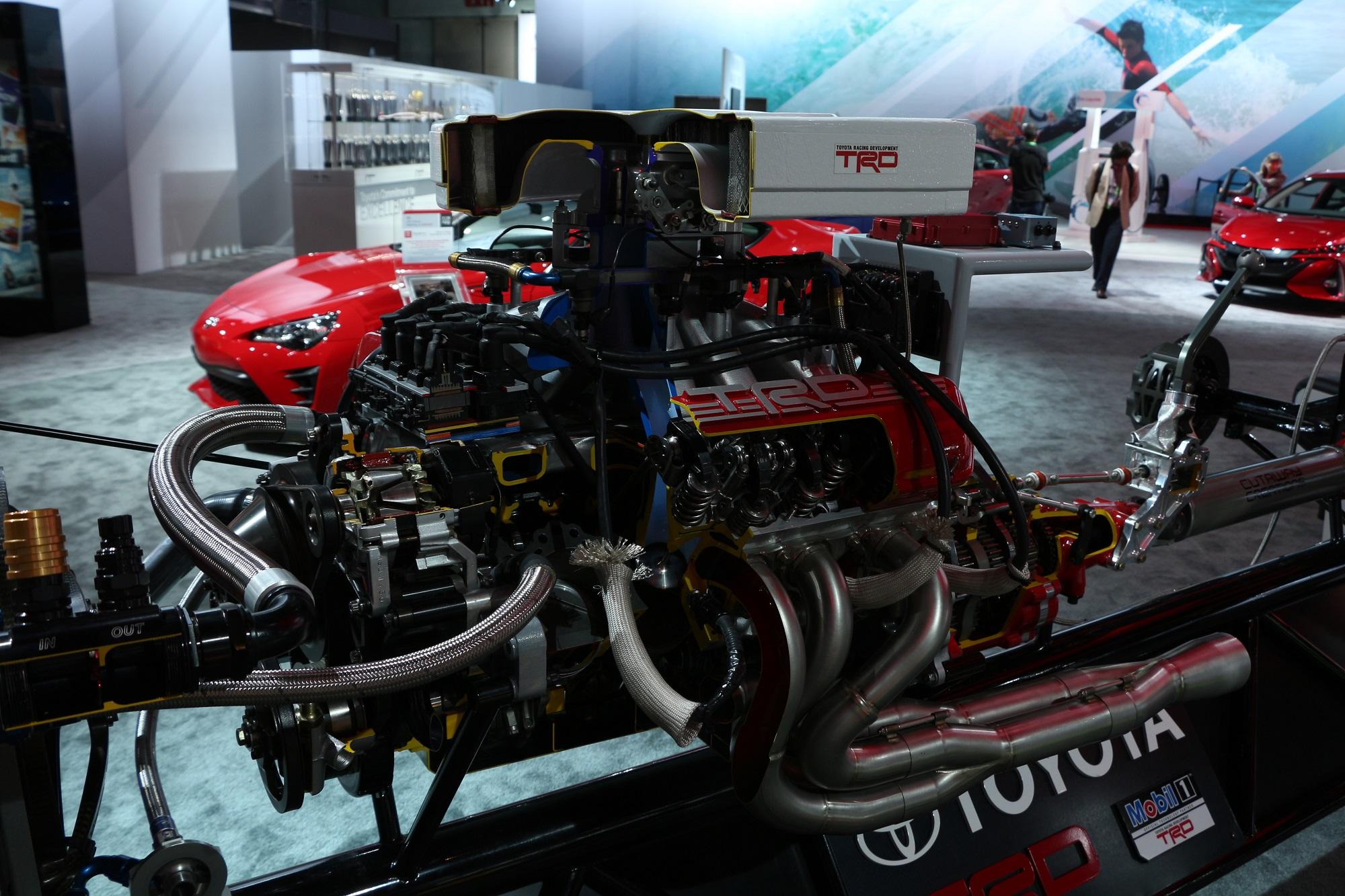 scionlife.com 2017 2018 Toyota TRD NASCAR Monster Cup Car Martin Truex Jr