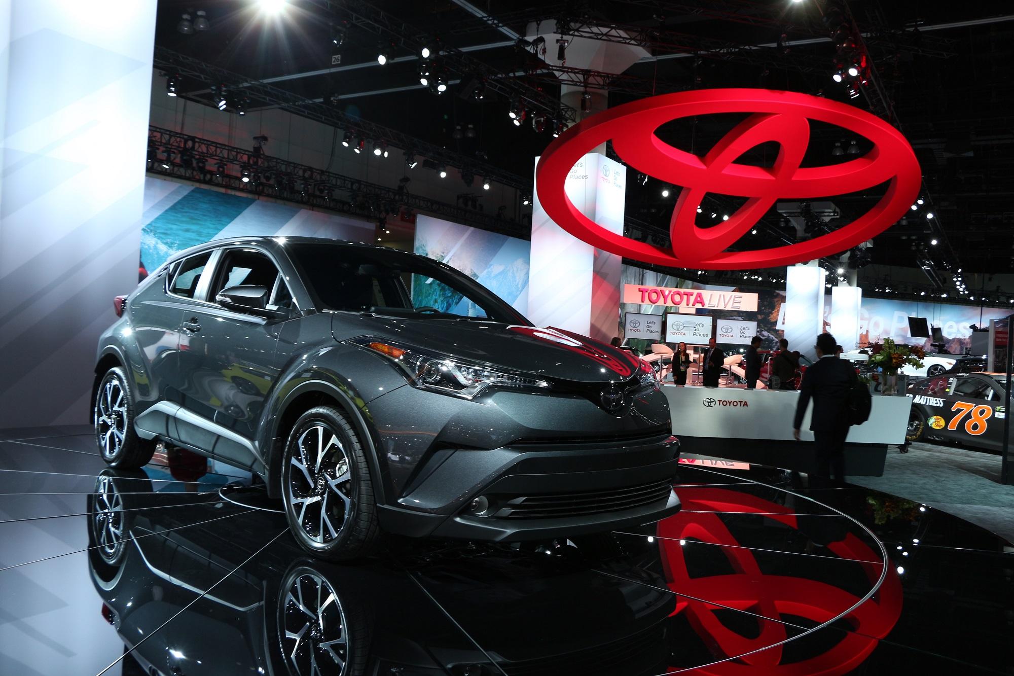 scionlife.com 2017 2018 Toyota C-HR CHR Compact SUV CUV LA Los Angeles Auto Show