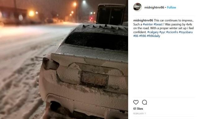 Scionlife.com Instagram Account of the Week #4 midnightrnr86 GT86 Scion FR-S