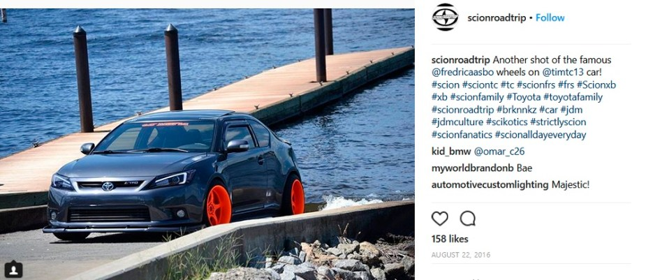Scionlife.com Instagram Account of the Week #3 ScionRoadTrip