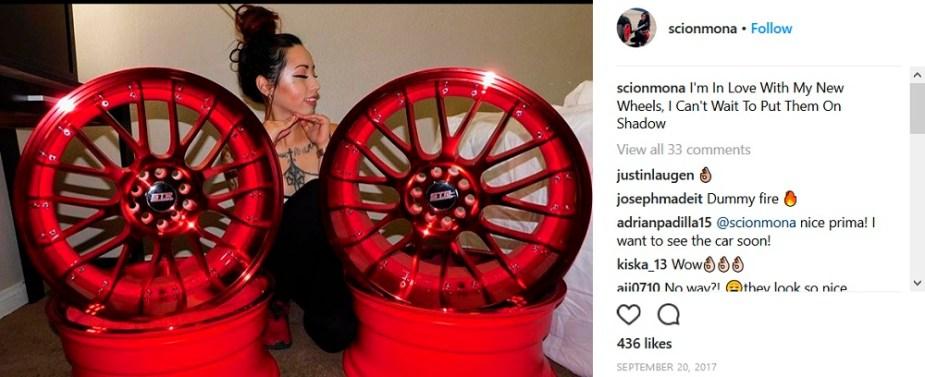 Scionlife.com Instagram Account of the Week #1 ScionMona Scion tC Shadow