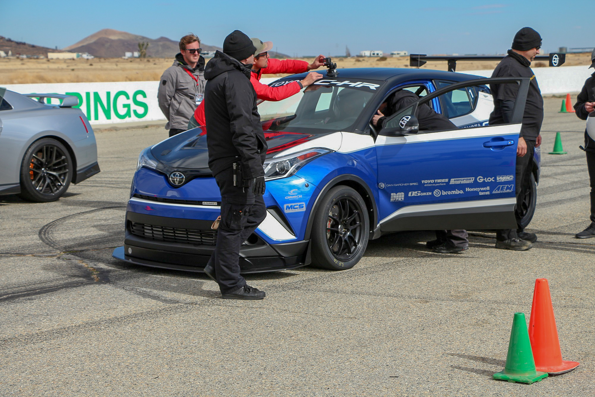 scionlife.com Toyota C-HR R-Tuned Willow Springs Track Test