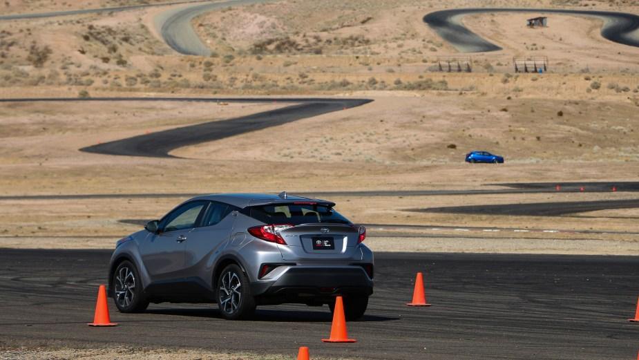 ScionLife.com Toyota C-HR Track Test Review