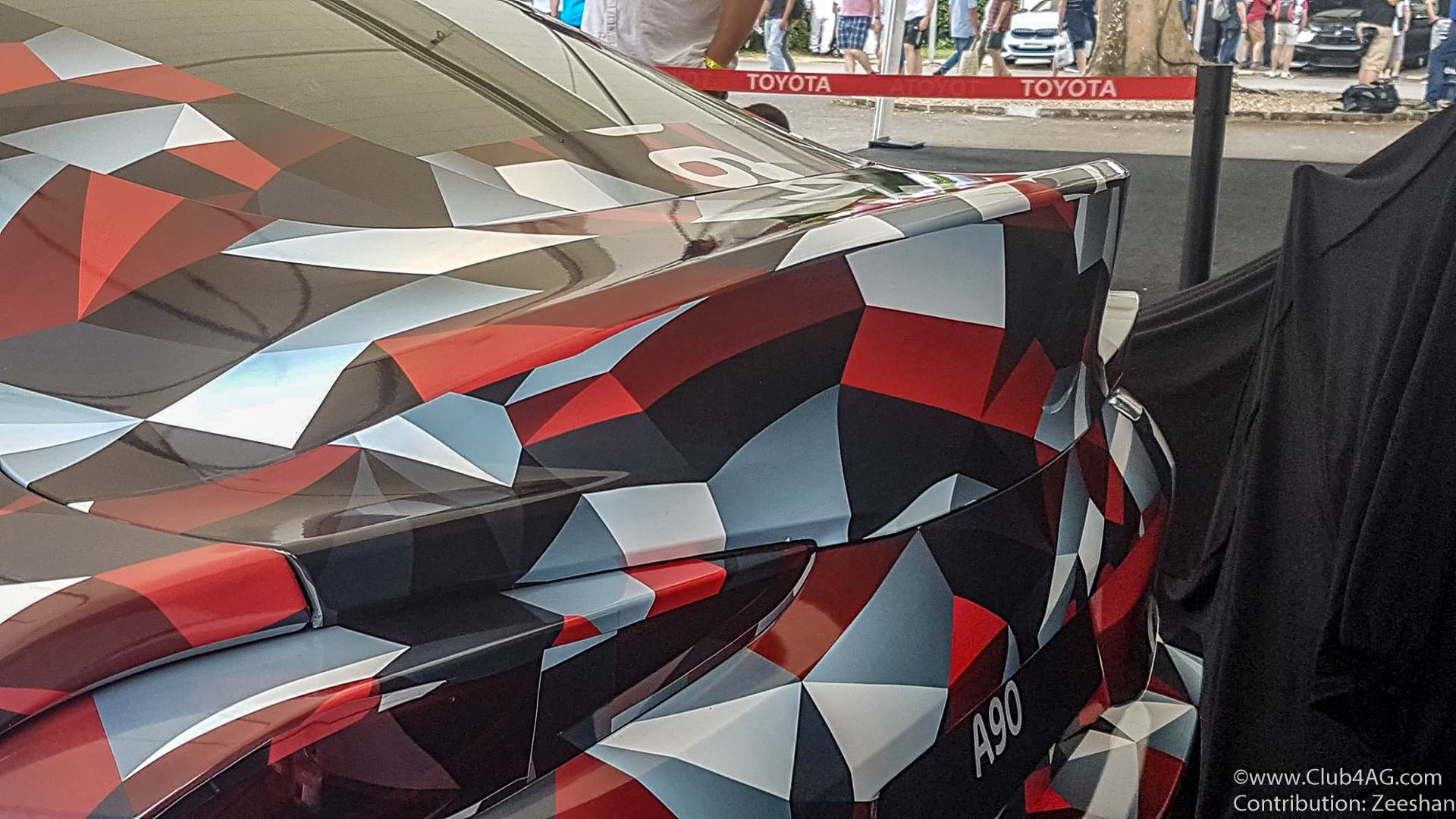ScionLife.com A90 Toyota Supra 2019 Goodwood Festival of Speed Moto Miwa Club4AG