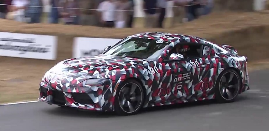 Scionlife.com 2019 Toyota Supra Goodwood Festival of Speed