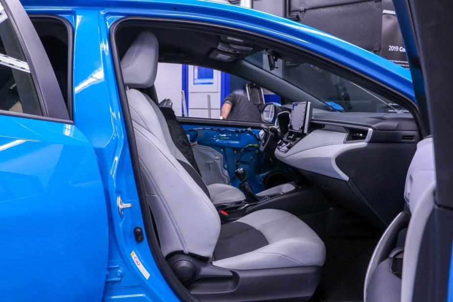 2019 2020 Toyota Corolla hatchback sedan SEMA Aftermarket Parts Development