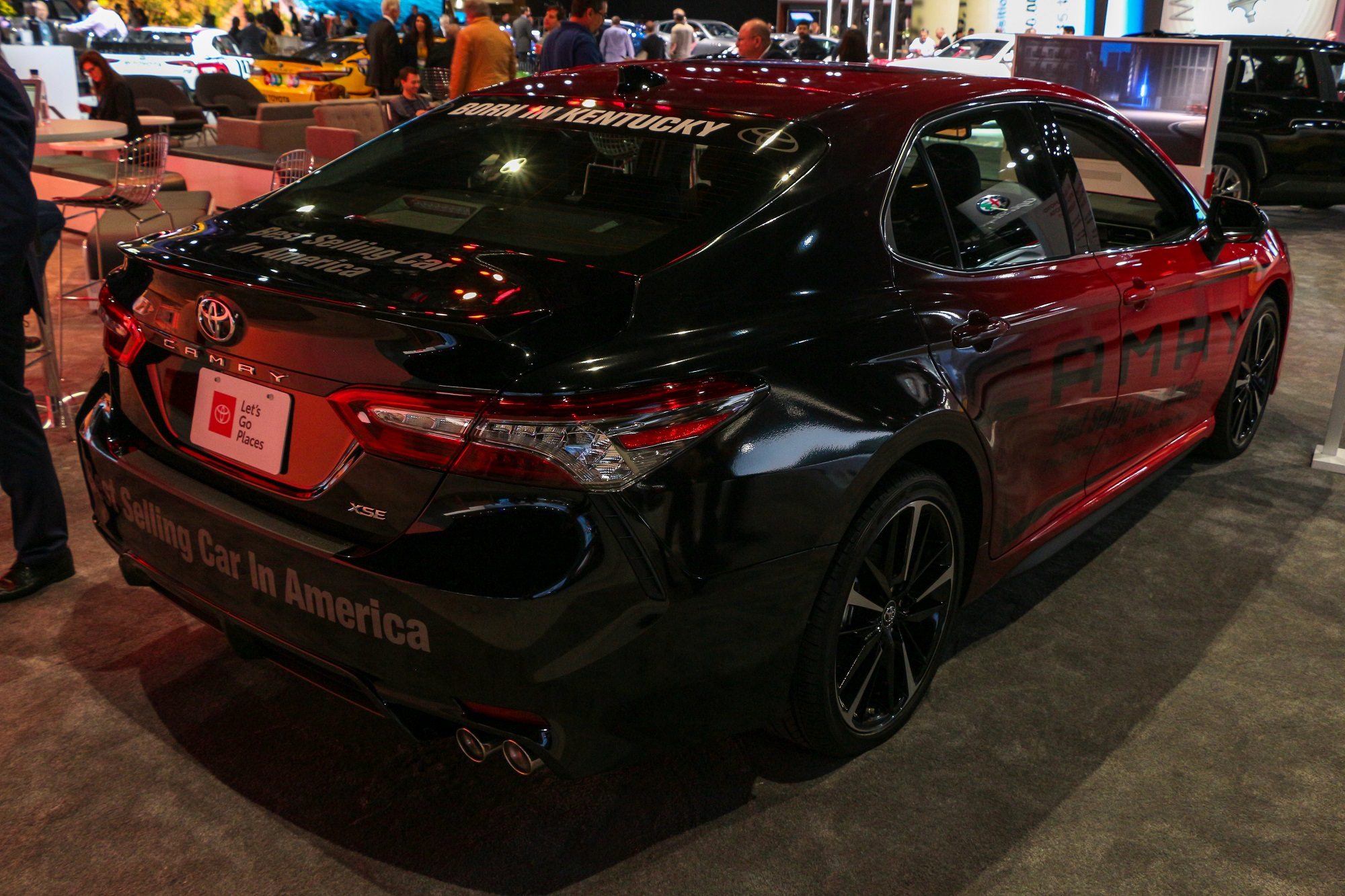 2019 Toyota Camry Los Angeles Auto Show