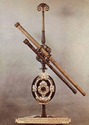 Galileos original self-made telescope