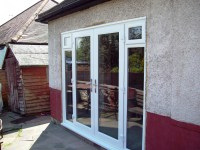 French Doors Sidelights with opening fanlights - SCI Windows