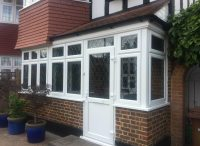 New Bay Window and Porch Installed in Morden | SCI WIndows