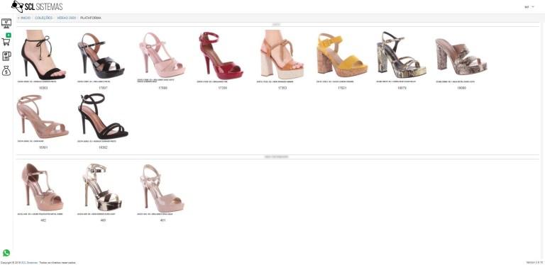 Catálogo calçados
