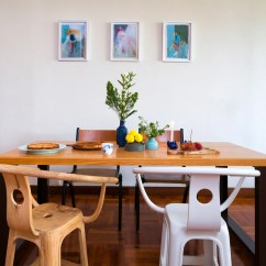 Dining Table And Chairs Hong Kong Lift Chair For Als Patient An Artist Couple S Wacky Whimsical Flat South China Morning Post