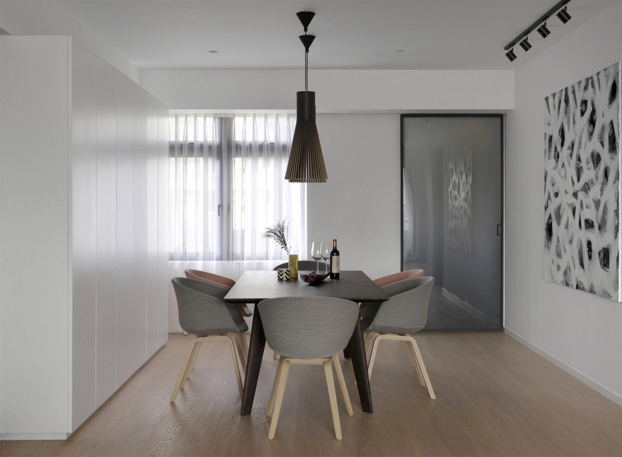 Making minimalism pop in a Hong Kong apartment  Post