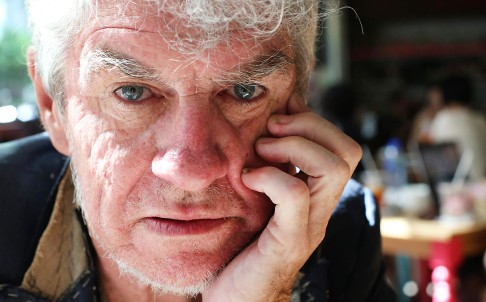 Christopher Doyle says he doesn't want to make one film every five years; he wants to make five films a year. Photo: K.Y. Cheng