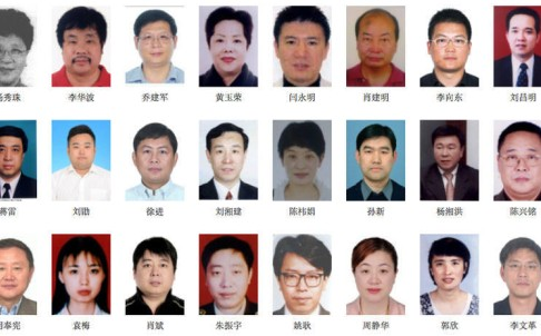 The CCDI website has headshots and background information on 100 wanted fugitives in Operation Sky Net. Photo: SCMP Pictures