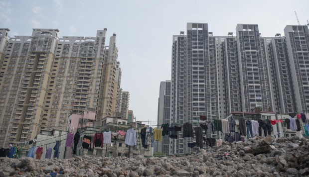 New apartment blocks in Guangzhou. Photos: Matjaz Tancic; An Ge; Thomas Bird; Corbis